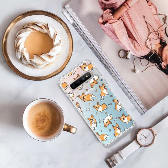 Corgi Phone Case - Samsung Galaxy S10 Case