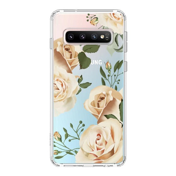 Champagne Roses Phone Case - Samsung Galaxy S10 Case