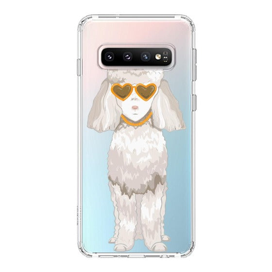 Poodle Phone Case - Samsung Galaxy S10 Plus Case
