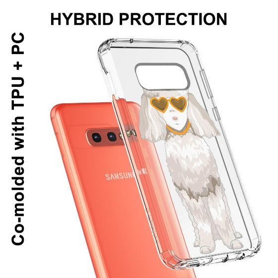 Poodle Phone Case - Samsung Galaxy S10e Case