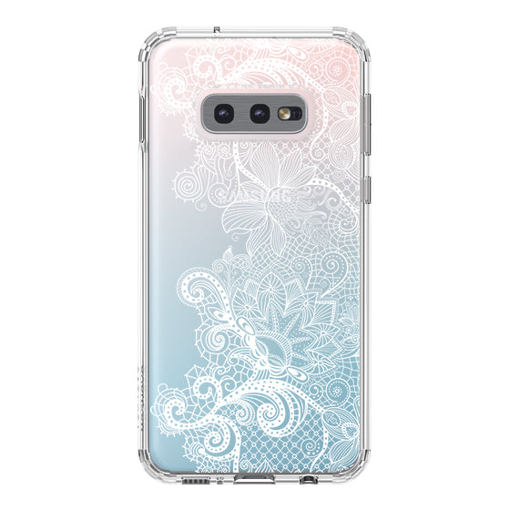 Floral Lace Phone Case - Samsung Galaxy S10e Case