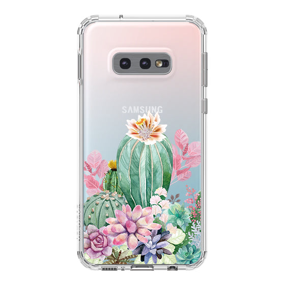 Tropical Cactus Succulents Phone Case - Samsung Galaxy S10e Case