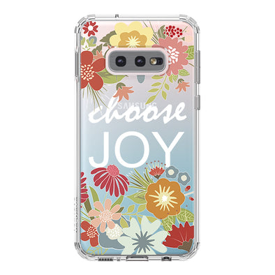Choose Joy Phone Case - Samsung Galaxy S10e Case