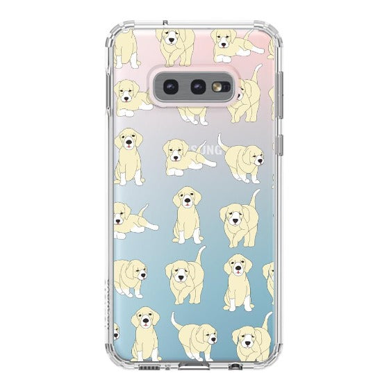 Golden Retriever Phone Case - Samsung Galaxy S10e Case