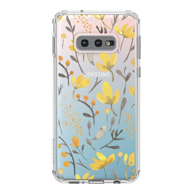 Floral Flower Phone Case - Samsung Galaxy S10e Case