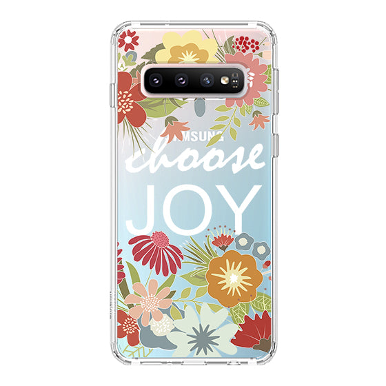 Choose Joy Phone Case - Samsung Galaxy S10 Case