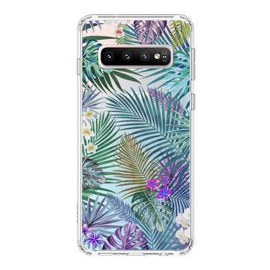Tropical Forests Phone Case - Samsung Galaxy S10 Plus Case