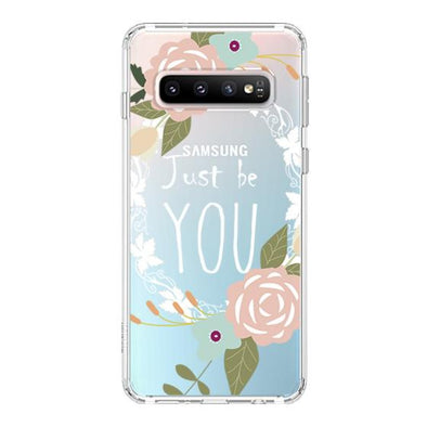 Just Be You Phone Case -Samsung Galaxy S10 Plus Case