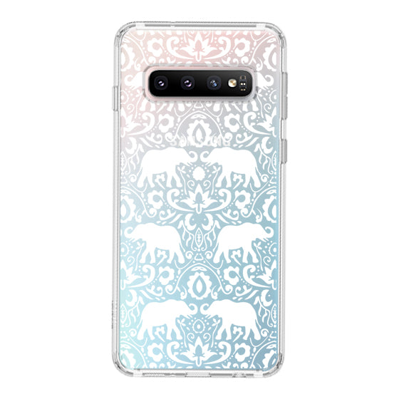 White Elephant Phone Case - Samsung Galaxy S10 Plus Case