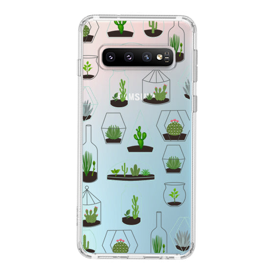 Cactus Plant Phone Case - Samsung Galaxy S10 Plus Case