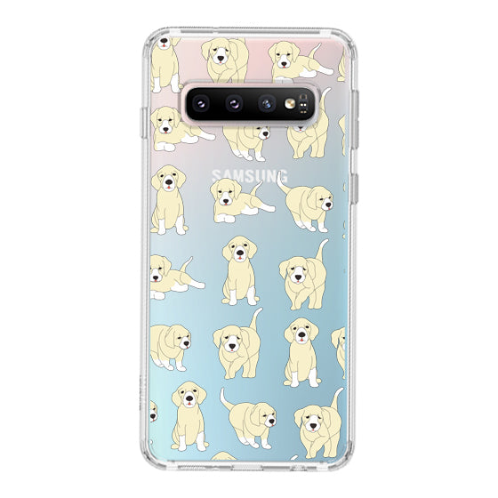 Golden Retriever Phone Case - Samsung Galaxy S10 Plus Case