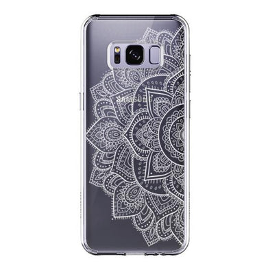 Half Mandala Phone Case - Samsung Galaxy S8 Case