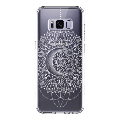 Moon Henna Phone Case - Samsung Galaxy S8 Case