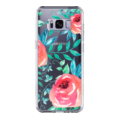 Roses Leaf Phone Case - Samsung Galaxy S8 Case