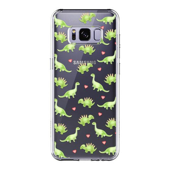 Cute Dinosaur Phone Case -Samsung Galaxy S8 Case