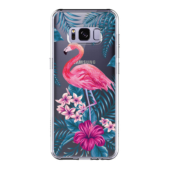 Tropical Flamingo Phone Case - Samsung Galaxy S8 Case