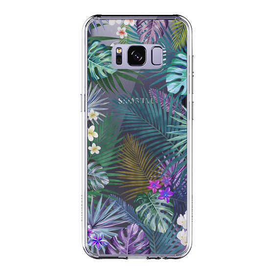 Tropical Forests Phone Case - Samsung Galaxy S8 Case