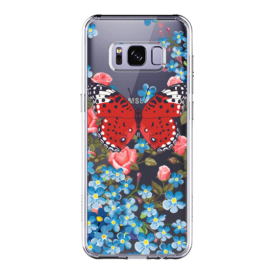 Fashion Butterfly Phone Case - Samsung Galax S8 Case