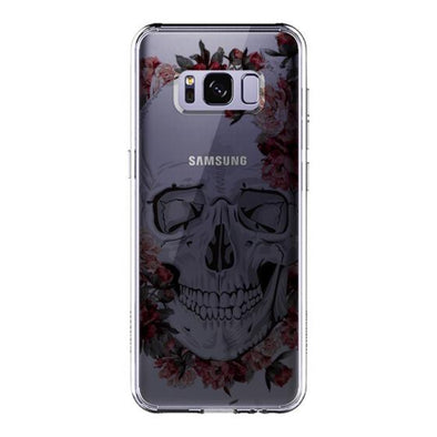 Cool Floral Skull Phone Case - Samsung Galaxy S8 Case
