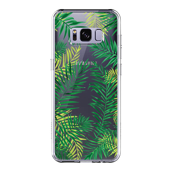 Palm Leaves Phone Case - Samsung Galaxy S8 Case