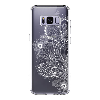 Paisley Floral Phone Case - Samsung Galaxy S8 Case