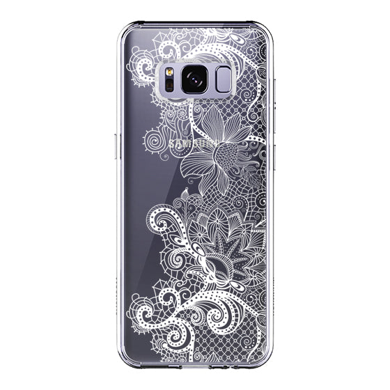 Floral Lace Phone Case - Samsung Galaxy S8 Plus Case