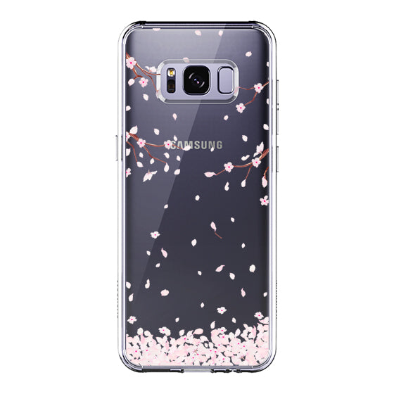 Sakura Flowers Blossom Phone Case - Samsung Galaxy S8 Plus Case