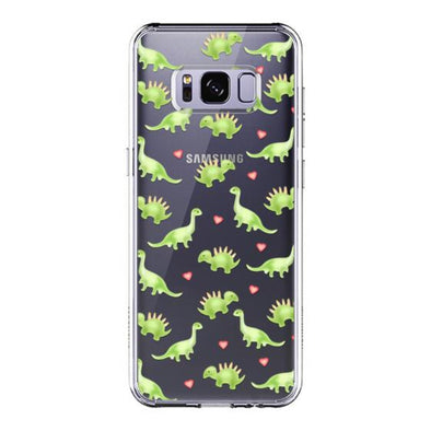 Cute Dinosaur Phone Case - Samsung Galaxy S8 Plus Case