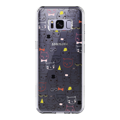Doodle Cat Phone Case - Samsung Galaxy S8 Plus Case