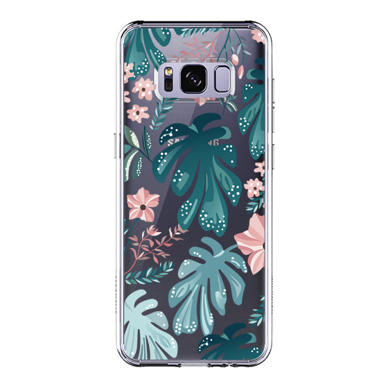 Tropical Palm Phone Case - Samsung Galaxy S8 Plus Case
