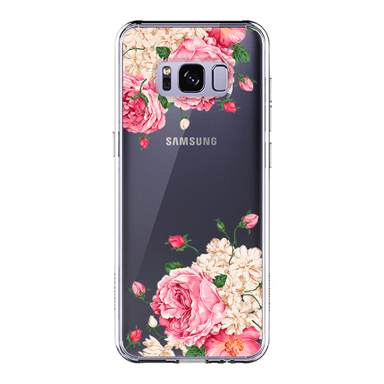 Pink Roses Phone Case - Samsung Galaxy S8 Plus Case