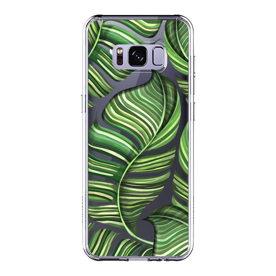 Banana Leaves Phone Case - Samsung Galaxy S8 Plus Case