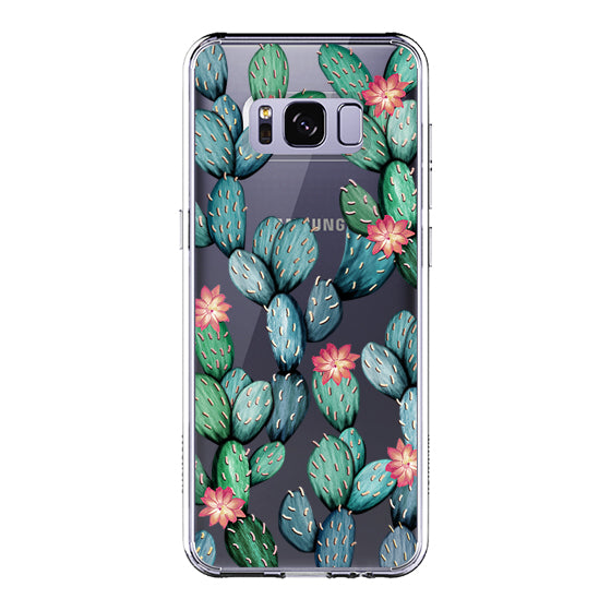 Tropical Cactus Phone Case - Samsung Galaxy S8 Plus Case