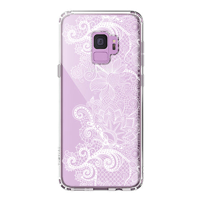 Floral Lace Phone Case - Samsung Galaxy S9 Case