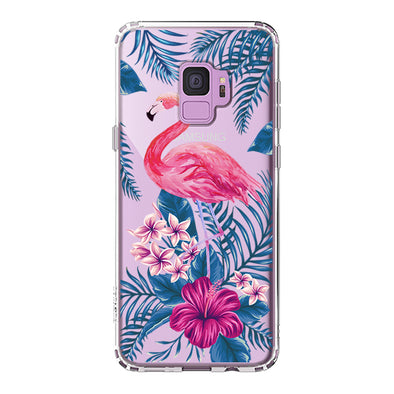 Tropical Flamingo Phone Case - Samsung Galaxy S9 Case