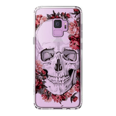 Cool Floral Skull Phone Case - Samsung Galaxy S9 Case