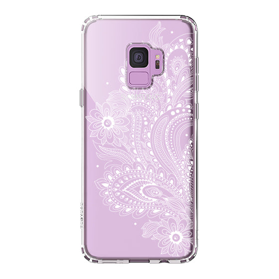 Paisley Floral Phone Case - Samsung Galaxy S9 Case