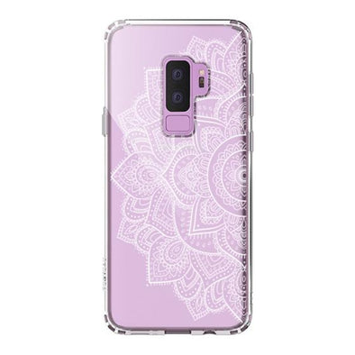 Half Mandala Phone Case - Samsung Galaxy S9 Plus Case