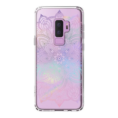 Rainbow Henna Mandala Phone Case - Samsung Galaxy S9 Plus Case