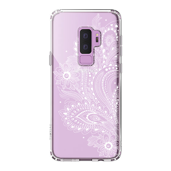 Paisley Floral Phone Case - Samsung Galaxy S9 Plus Case