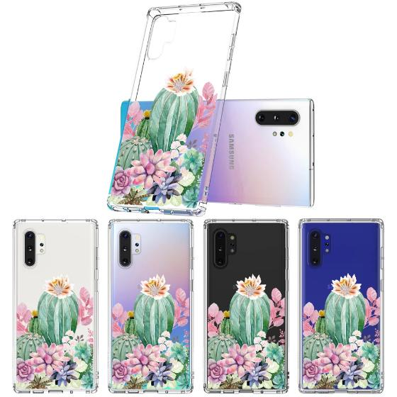 Tropical Cactus Succulents Phone Case - Samsung Galaxy Note 10 Plus Case