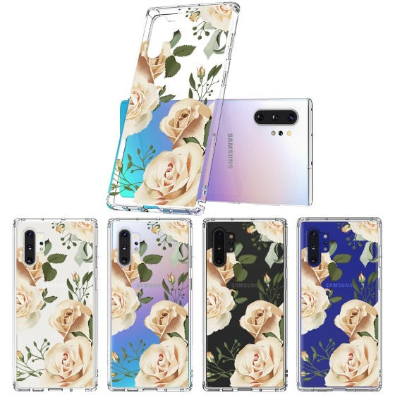Champagne Roses Phone Case - Samsung Galaxy Note 10 Plus Case