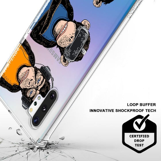 Don't Speak, Don't See,Don't Hear Phone Case - Samsung Galaxy Note 10 Plus Case