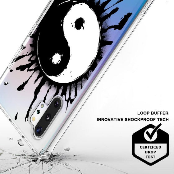 Yin Yang Phone Case - Samsung Galaxy Note 10 Plus 5G Case