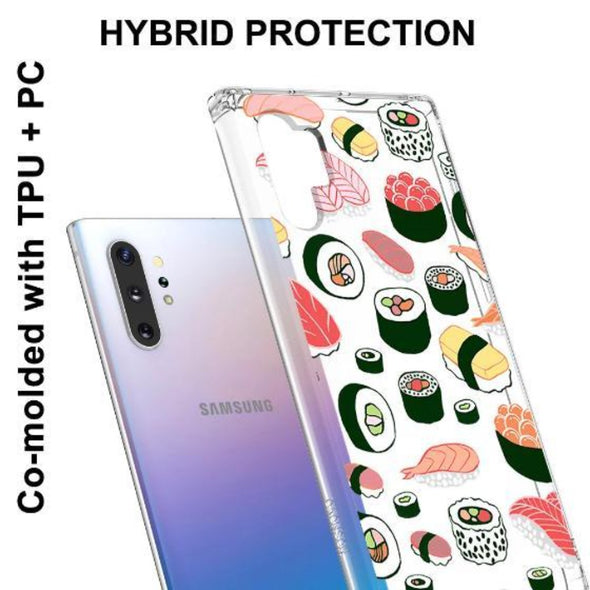 Sushi Phone Case - Samsung Galaxy Note 10 Plus 5G Case