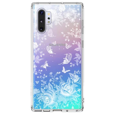 White Rose Garden Phone Case - Samsung Galaxy Note 10 Plus 5G Case