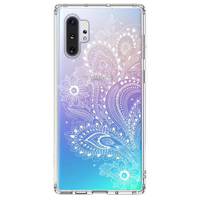 Paisley Floral Phone Case - Samsung Galaxy Note 10 Plus Case