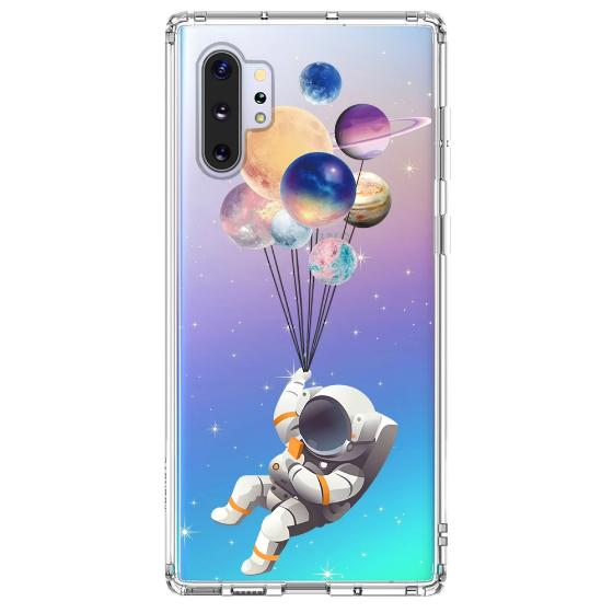 Astronaut Planet Phone Case - Samsung Galaxy Note 10 Plus 5G Case