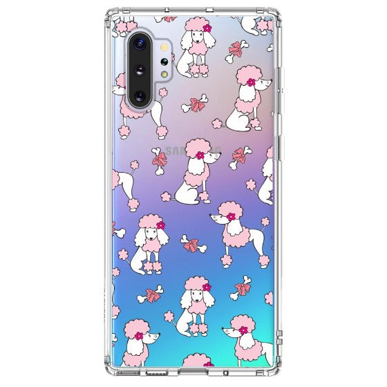 Cute Poodle Phone Case - Samsung Galaxy Note 10 Plus 5G Case