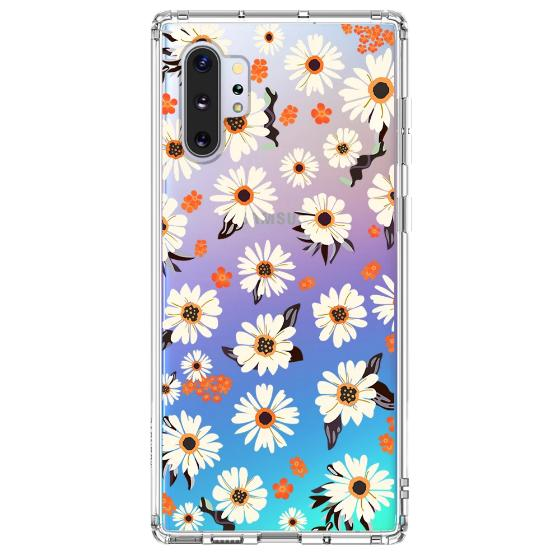 Daisy Floral Phone Case - Samsung Galaxy Note 10  Plus 5G Case